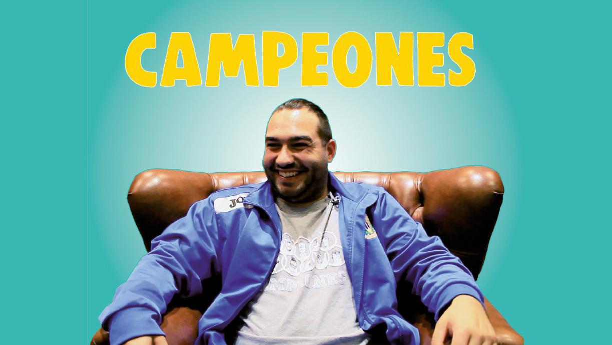 """""""Me gusta que me conozcan para animar a mis compañeros""""  Jesus Lago habla sobre la pelicula Campeones"""