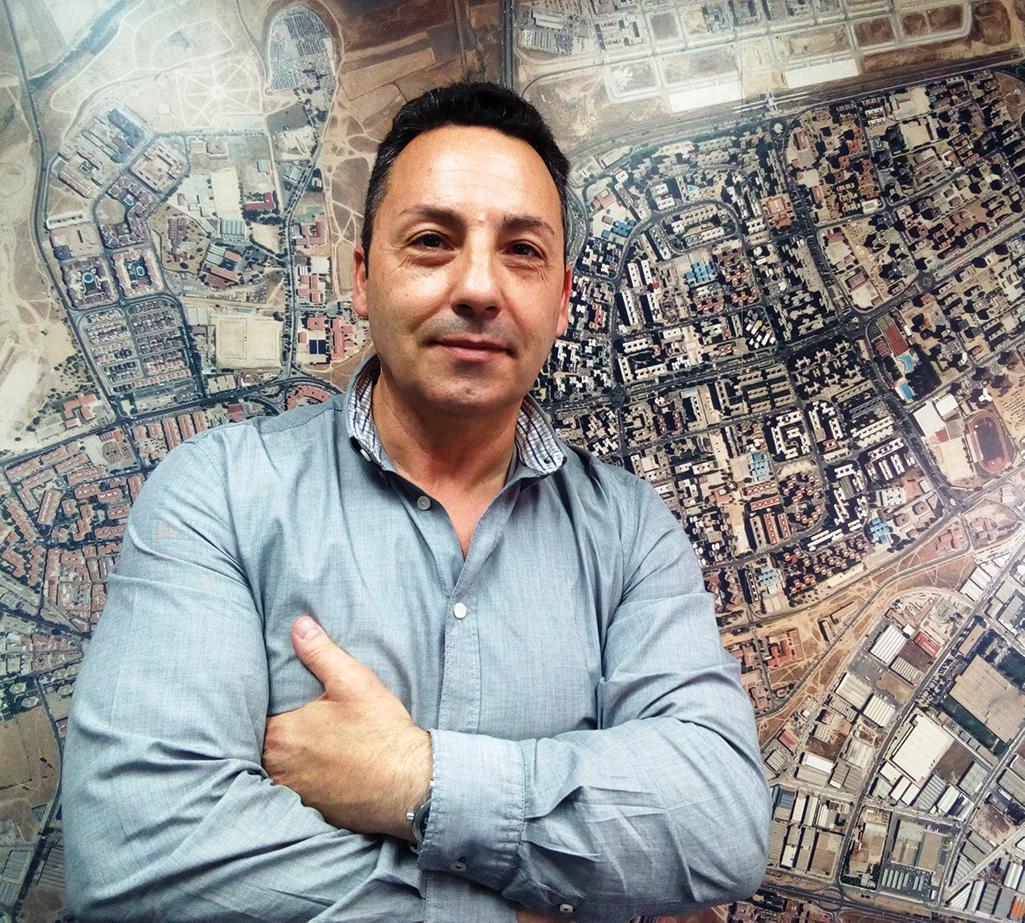"""""""Hay que ser mas directo con la ciudadania y mas humano, ser como ellos"""". Jose Manuel Egea, concejal de Ciudadanos"""
