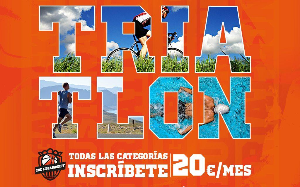 Nace nuevo equipo de Triatlón inclusivo en Leganés