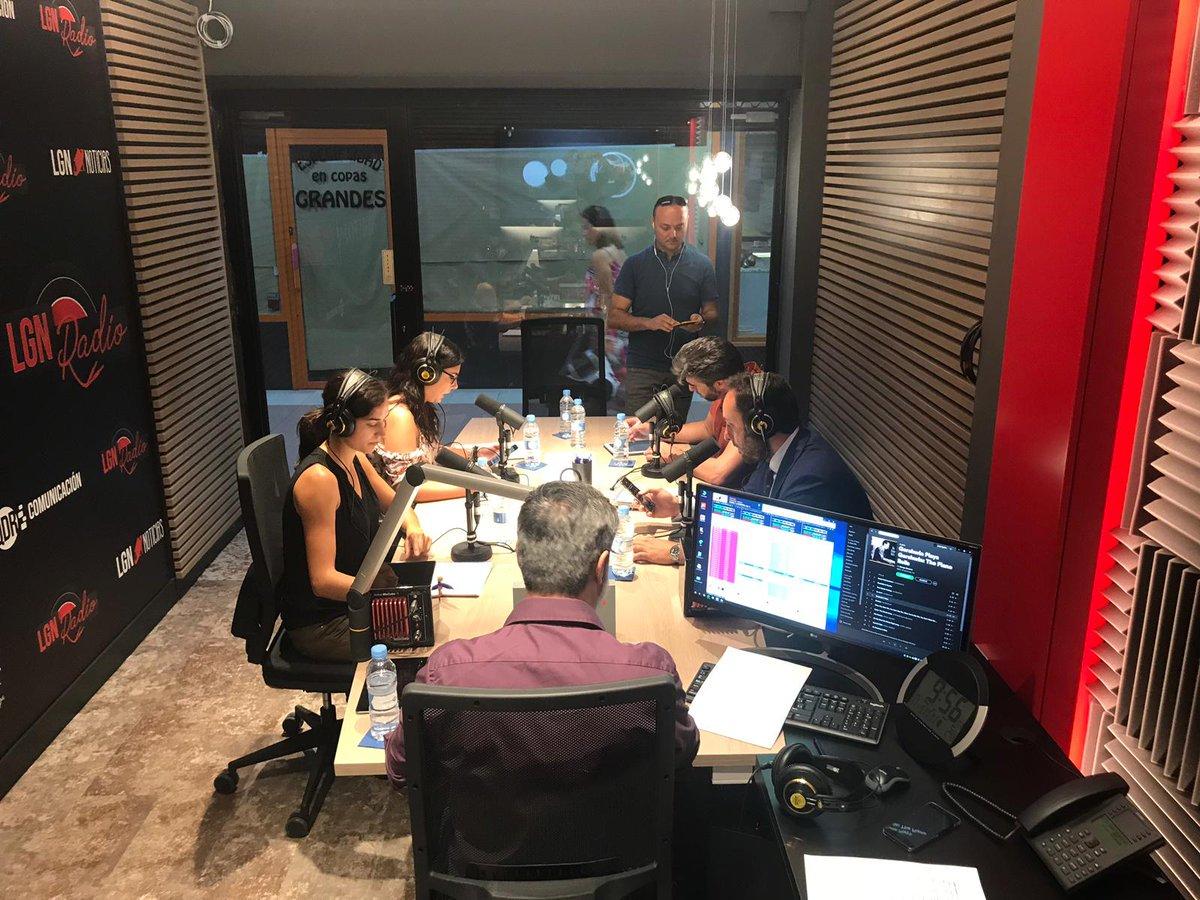 LGN Radio enciende el piloto rojo con su magazine diario 'En el aire'