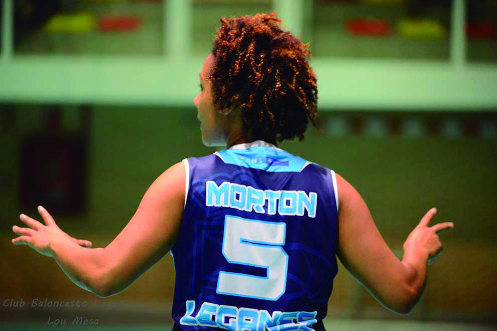 Yohanna Morton vuelve a Leganés