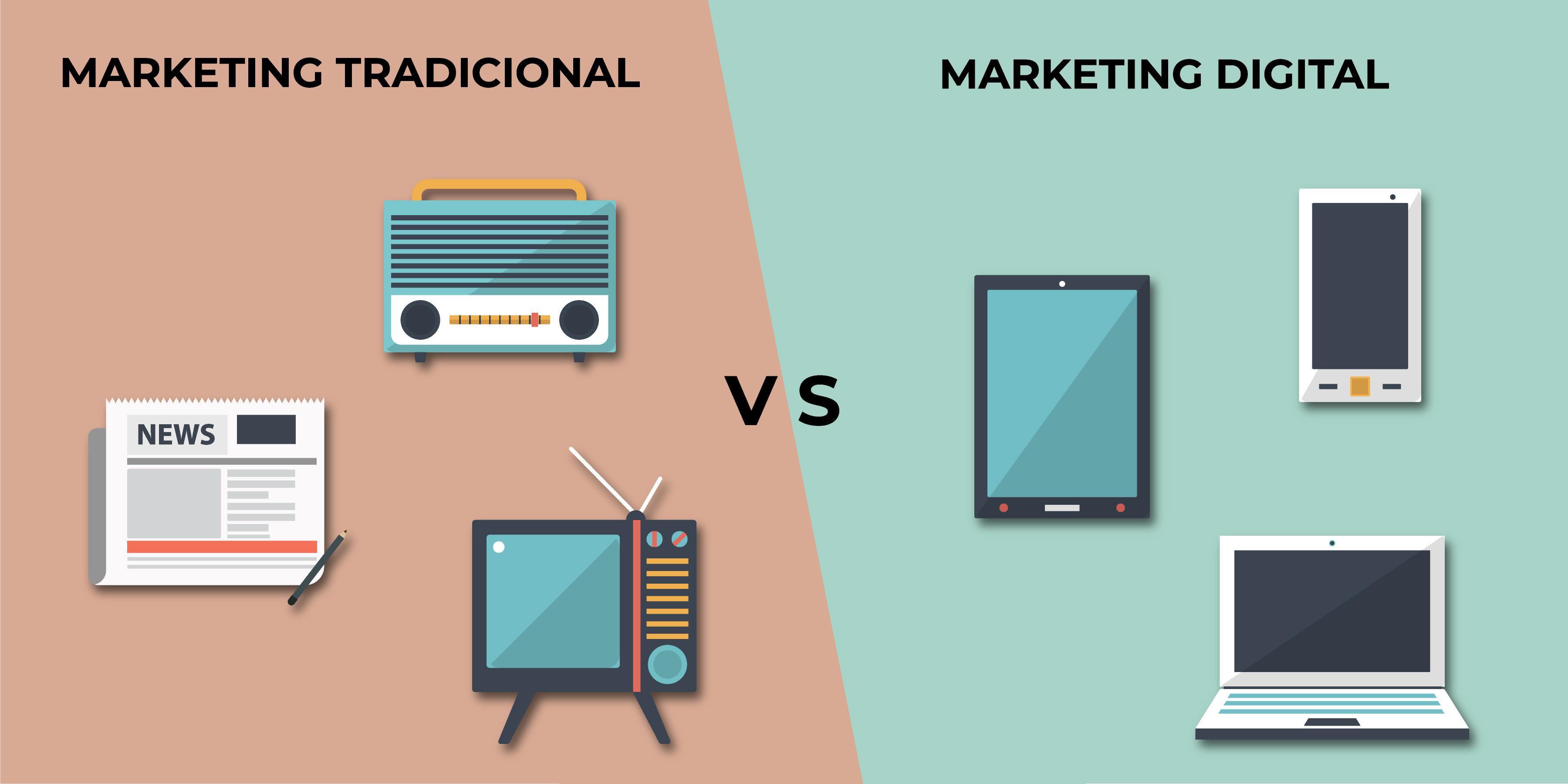 Diferencias del marketing online y el marketing offline