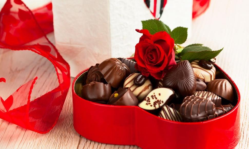 El chocolate en San Valentín