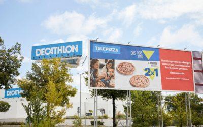 """Telepizza se anuncia copiando la publicidad de otras grandes marcas """"en su cara"""""""